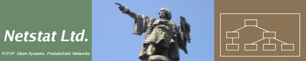 Netstat Ltd. - Christopher Columbus Pointing - Logo
